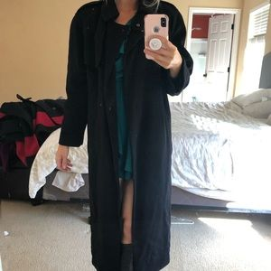 VINTAGE Burberry London Cashmere Wool Coat